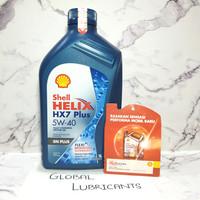 Shell Helix HX7 Plus 5W-40 1 Liter SN Plus (Oli Mesin Fully Synthetic)