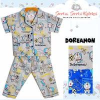 Piyama Anak Katun / Baju Tidur Anak Katun Doraemon