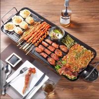 Pemanggang Listrik Non Stick / Portable Electric Grill Pan 2848
