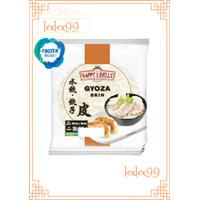 Happy Belly Frozen Gyoza Skin / Kulit Pangsit / Kulit Dumpling 300gr