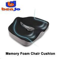 Bantal Premium Tulang Ekor Ortopedi Bantalan Kursi Mobil Memory Foam