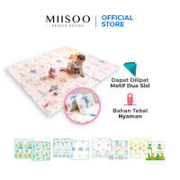 MIISOO Foldable Carpet Playmat Bayi XPE tebal 1cm Karpet Anak Tikar