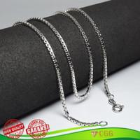 Kalung Pria Wanita Perak Silver 925 Original