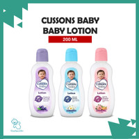 ORIGINAL Cussons Baby Body Lotion 200 ml/ Cussons Lotion Bayi Losion