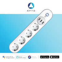 AFTO Smart Extension Socket / Terminal Colokan Listrik -WiFi SmartHome