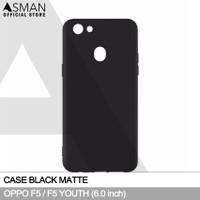 Ultraslim OPPO F5 / F5 Youth (6.0)   Softcase Black Matte - Hitam
