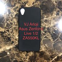 Soft case slim black matte asus zenfone live 1 live 2 za550kl