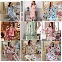 JJ - Daster Wanita Import / piyama import / baju tidur wanita