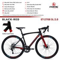 Road Bike EXOTIC ET-2708 SL 2.0 (Sepeda Balap Murah Exotic)