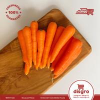 Wortel baby berastagi 250gr / baby carrot brastagi 250 gr