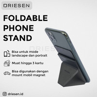Driesen Docking HP Mobile Stand HP Dudukan Lipat Holder Sandaran HP