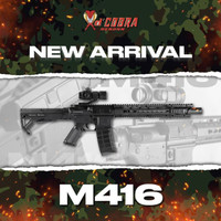 Dcobra AR 15 M4 Spring - Mainan Kokang - Dcobra M416 Spring