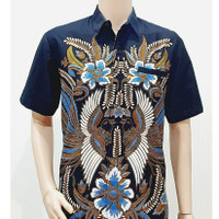 Kemeja Batik Jumbo XXL Hem Baju Batik Pria Big Size Ukuran Besar PL