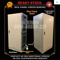 Box Panel Listrik Freestanding 1500x800x400mm ID SPHC1.5mm RAL 7032-GT