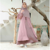 Gamis wanita Setelan Syari Mufida Dress
