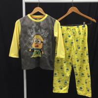 Baju tidur anak piyama anak laki laki Minion Class 14-18