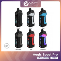 Aegis Boost Pro Authentic By GeekVape - Geekvape Aegis Boost Pro - Almighty Blue