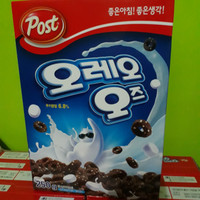 post oreo cereal import sereal 250 Gr Made In Korea / Non Halal