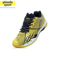PROMO MURAH! LINING Sepatu Badminton Sonic Boom AYAN 019 Yellow