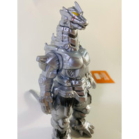 Figure Mecha Godzilla Silver Monster Kaiju Medium Size