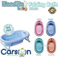 Bak Mandi Bayi Lipat/Kandila Folding Bath/Baby Bath Tub Seperti Karibu