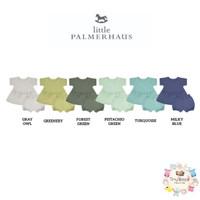Little Palmerhaus Peplum Tee Set Warna2 (Baju Set Anak) - 6m, gray owl