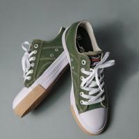 Sepatu Johnson Classic Lowcut (LC) Green - Hijau, 37