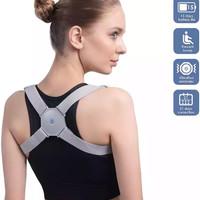 Adjustable Smart back posture corrector / correction support vibration