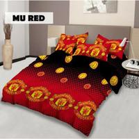 Bed Cover Lady Rose Terbaru Manchester United / MU 180x200 Original