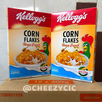 Sereal / cereal corn flakes honey crunch 400 gram kellogs - promo bulan Feb