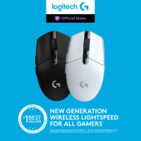 Logitech G304 Lightspeed Wireless Gaming Mouse - Hitam