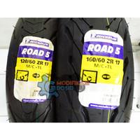 Ban Michelin Pilot Road 5 120/60 -17 & 160/60 - 17 Ninja CBR R25