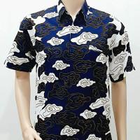 Kemeja Pria Big Size XXL XXXL Baju Hem Batik Jumbo Ukuran Besar MM