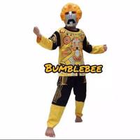 kostum anak superhero bumblebee/baju karakter anak