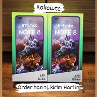New infinix Note 8, 6/64 dan 8/128 Resmi indonesia