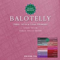 BALOTELLY 2/2 - KAIN BALOTELLI / BALOTELI POLOS [harga per 0.5m]