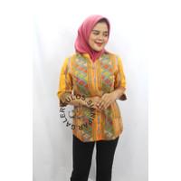 Baju Blouse Bahan Semi Sutra - Galery Ulos Sianipar