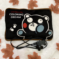 Bantal Penghangat Black Panda / Bantal Air Panas Elektrik
