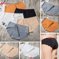 JC077 Celana Dalam Seamless Wanita Panty Anti Nyeplak Tanpa Jahitan