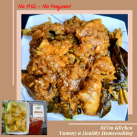 Ayam Ungkep+sambal bawang 1ekor 8 pot Ayam Kuning Lengkuas Ayam Goreng