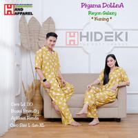 Piyama Couple - Baju Tidur Pasangan - Pajamas Couple Rayon Galaxy