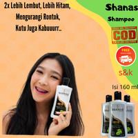 Promo Shampoo Shanas Anti Rambut Rontok Rusak Bercabang, kutu hilang