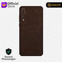 [EXACOAT] Huawei P20 Pro 3M Skin / Garskin - Leather Brown