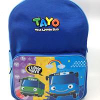Tayo The Little Bus Backpack L - Dadi/ Ransel Anak /Tas Sekolah