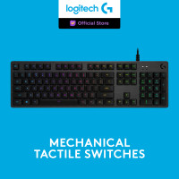 Logitech G512 RGB Mechanical Gaming Keyboard - GX Brown Tactile