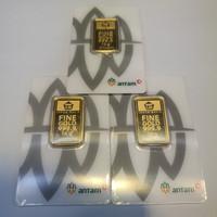 Emas Antam 10 gr| gram| gr LM Logam Mulia (Baru certieye app)