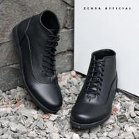 Zensa Alton Black Sepatu Pria Ankle Boots Formal Original