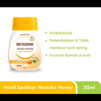 Betadine hand sanitizer manuka honey 50ml