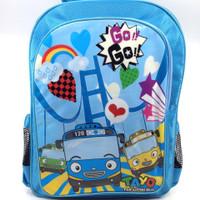 Tayo Blue Backpack Large - Dadi/Ransel Anak/Tas Sekolah