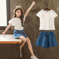 Setelan Korea Baju+Celana baju anak perempuan